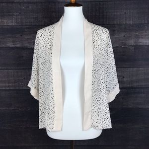4/$25 New York & Company Open Front Cardigan